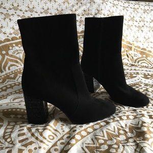 🆕 NWOB Michael Kors Embellished Heel Ankle Boots
